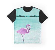 Flamingo Graphic T-Shirt
