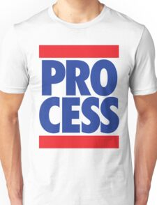 Process (Block Red/Blue) Unisex T-Shirt