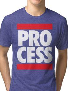 Process (Block Red/White) Tri-blend T-Shirt