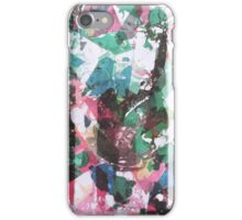 Landscape through splinter glass iPhone Case/Skin