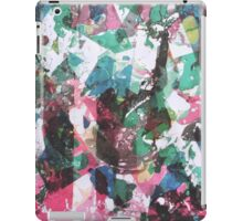 Landscape through splinter glass iPad Case/Skin