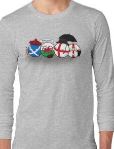 Polandball - Uk Family Portrait Long Sleeve T-Shirt