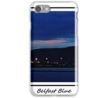 Belfast Blue iPhone Case/Skin