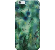 Flowers amongst the Reeds iPhone Case/Skin