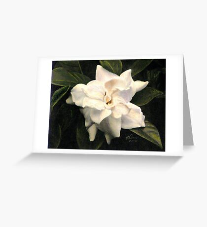The Scent of Gardenia Greeting Card