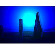Blue Brodgar Photographic Print