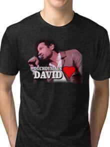 Duchovniacs Love David Tri-blend T-Shirt