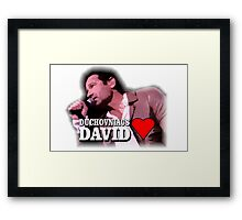 Duchovniacs Love David Framed Print
