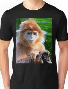 GUESS WHO WON THE STARING CONTEST? Unisex T-Shirt