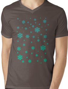 Snowflakes II Mens V-Neck T-Shirt