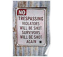 A CLEAR SIGN Poster