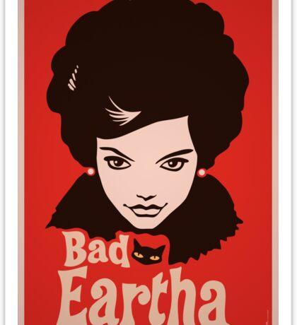 Eartha Kitt - That Bad Eartha Retro Poster Sticker