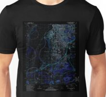 USGS TOPO Map Arkansas AR South Fort Smith 259646 1987 24000 Inverted Unisex T-Shirt