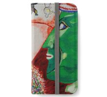 I and the Village- Tribute to Chagall iPhone Wallet/Case/Skin