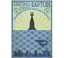 Welcome to Rapture  Photographic Print