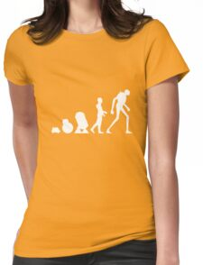 Droid Evolution Womens Fitted T-Shirt