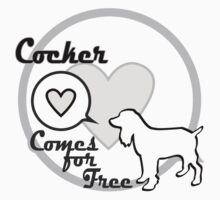Cocker Spaniel Dog Clothing Gift by 8milesfromhome