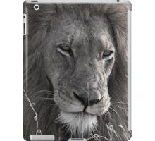 Lion Man - Photographic Nature Print iPad Case/Skin