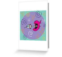 Fish Food 01 Greeting Card