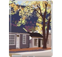 Historic Arrowtown in Autumn iPad Case/Skin