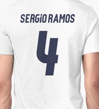 Sergio Ramos 4 Unisex T-Shirt