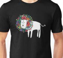 Flower Lion Unisex T-Shirt