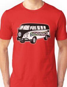 Duchovniacs Bus - David Duchovny Fan Squad Unisex T-Shirt