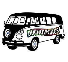 Duchovniacs Bus - David Duchovny Fan Squad Photographic Print