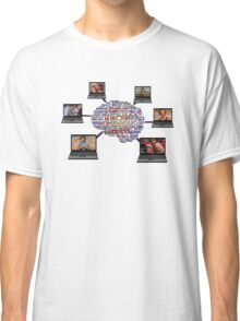 Neil Breen - Laptops on the Brain T-Shirt Classic T-Shirt