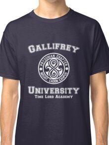 Gallifrey University Time Lord Academy white Classic T-Shirt
