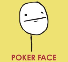 MEME: Poker Face Kids Clothes