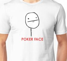 MEME: Poker Face Unisex T-Shirt