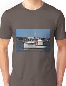 Barooga wooden boat, Goolwa, South Australia Unisex T-Shirt