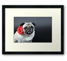Waiting for L O V E Framed Print