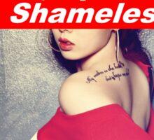 Rich, Spoiled & Shameless Sticker