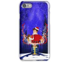 10th Doctor celebrate Christmas iPhone Case/Skin