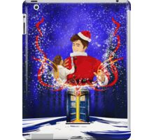 10th Doctor celebrate Christmas iPad Case/Skin