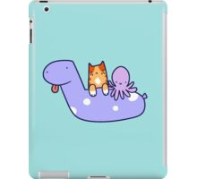 Pool Toy Tabby and Octopus  iPad Case/Skin