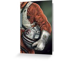 Helmet Series: Luke Hoth Pilot Greeting Card
