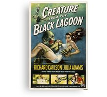 Creature from the Black Lagoon - 1954 Movie Poster Canvas Print
