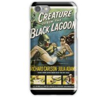 Creature from the Black Lagoon - 1954 Movie Poster iPhone Case/Skin