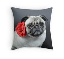 Waiting for L O V E Throw Pillow
