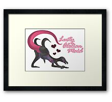 Lusty Alolian Maid Framed Print