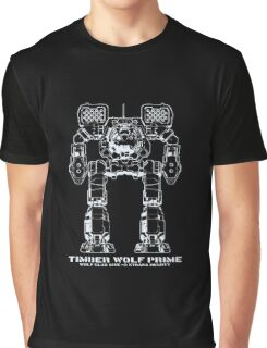 BattleTech Timber Wolf Prime Graphic T-Shirt