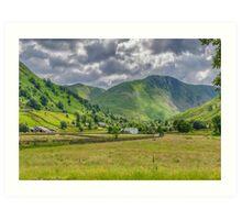 Hartsop Village Lake District Art Print