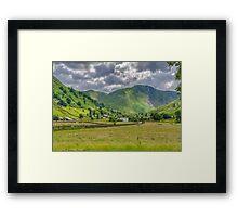 Hartsop Village Lake District Framed Print