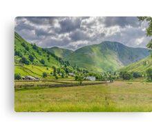 Hartsop Village Lake District Metal Print
