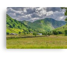 Hartsop Village Lake District Canvas Print