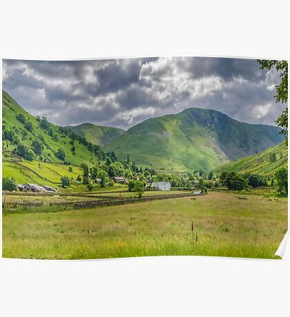 Hartsop Village Lake District Poster