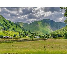 Hartsop Village Lake District Photographic Print